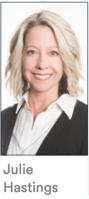 Headshot of Julie Hastings.