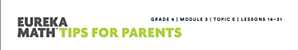 Image showing the header of a parent tip sheet.