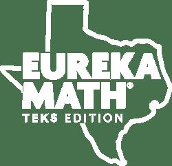 Eureka Math TEKS Edition Logo - White