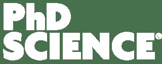 PhD Science Logo - WHITE