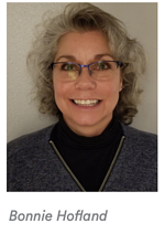 Headshot of Bonnie Hofland.