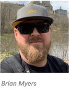 Headshot of Brian Myers.