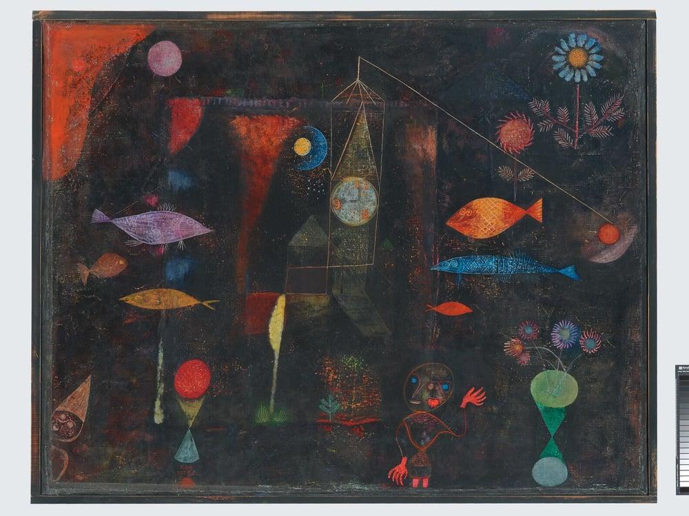 Paul Klee-Fish Magic-1925