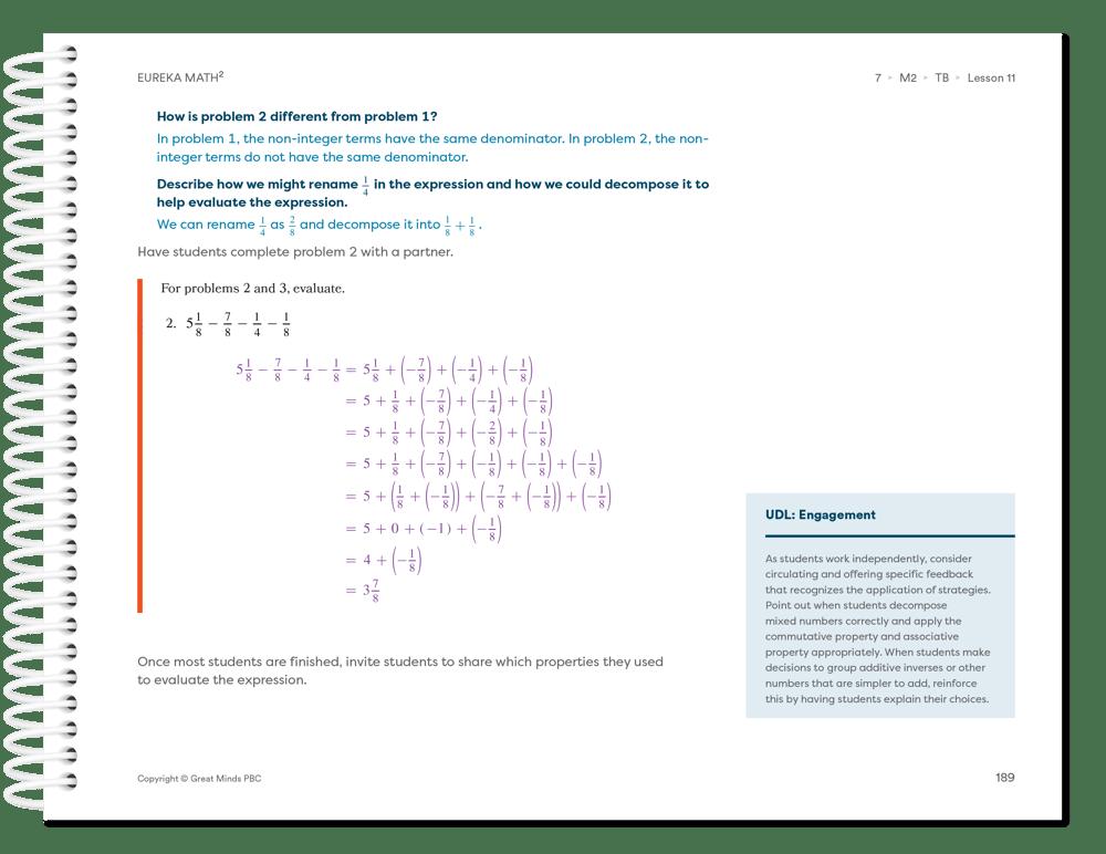 Eureka Math Squared UDL-Engagement