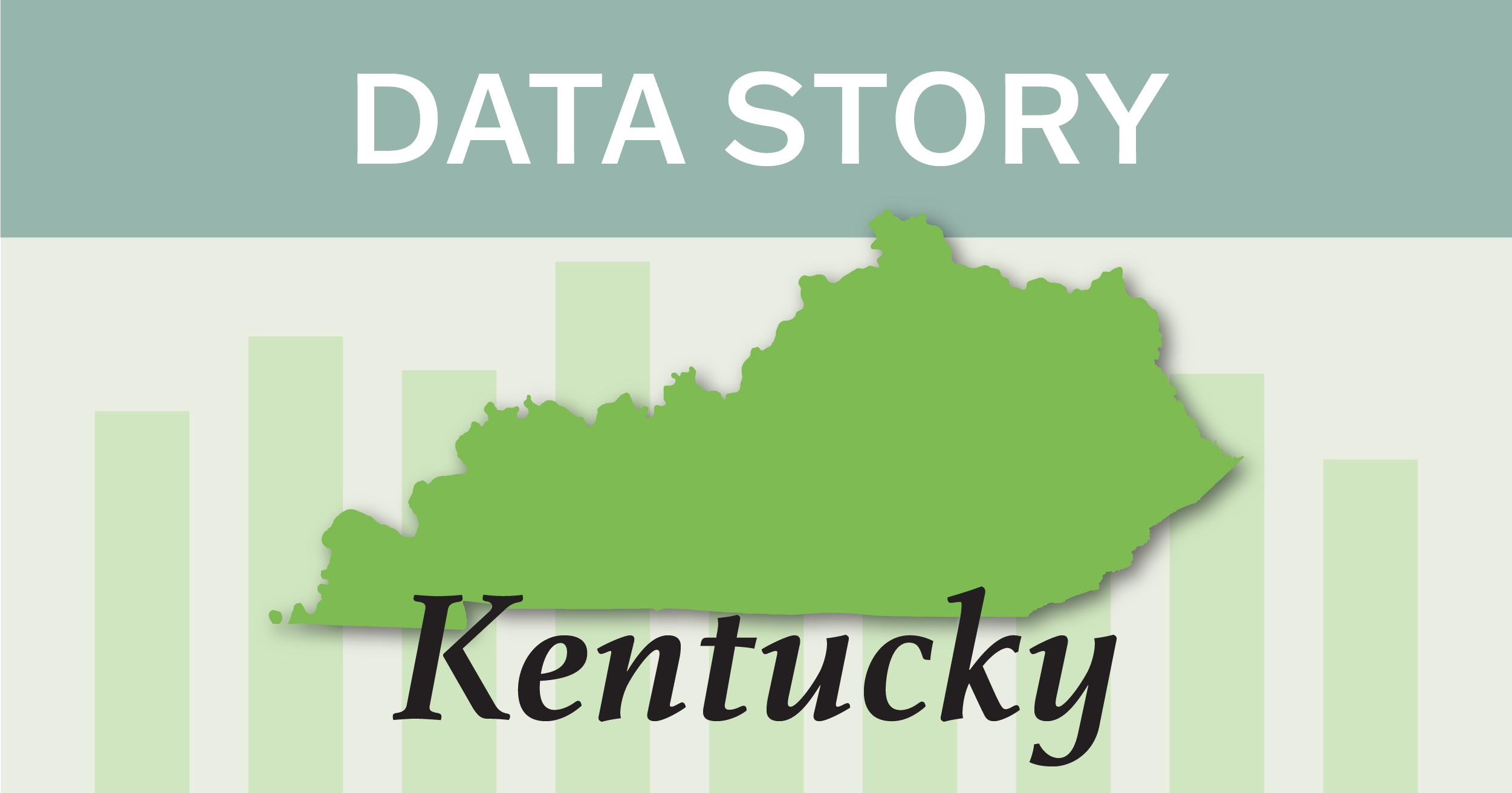 Outline of the state of Kentucky.