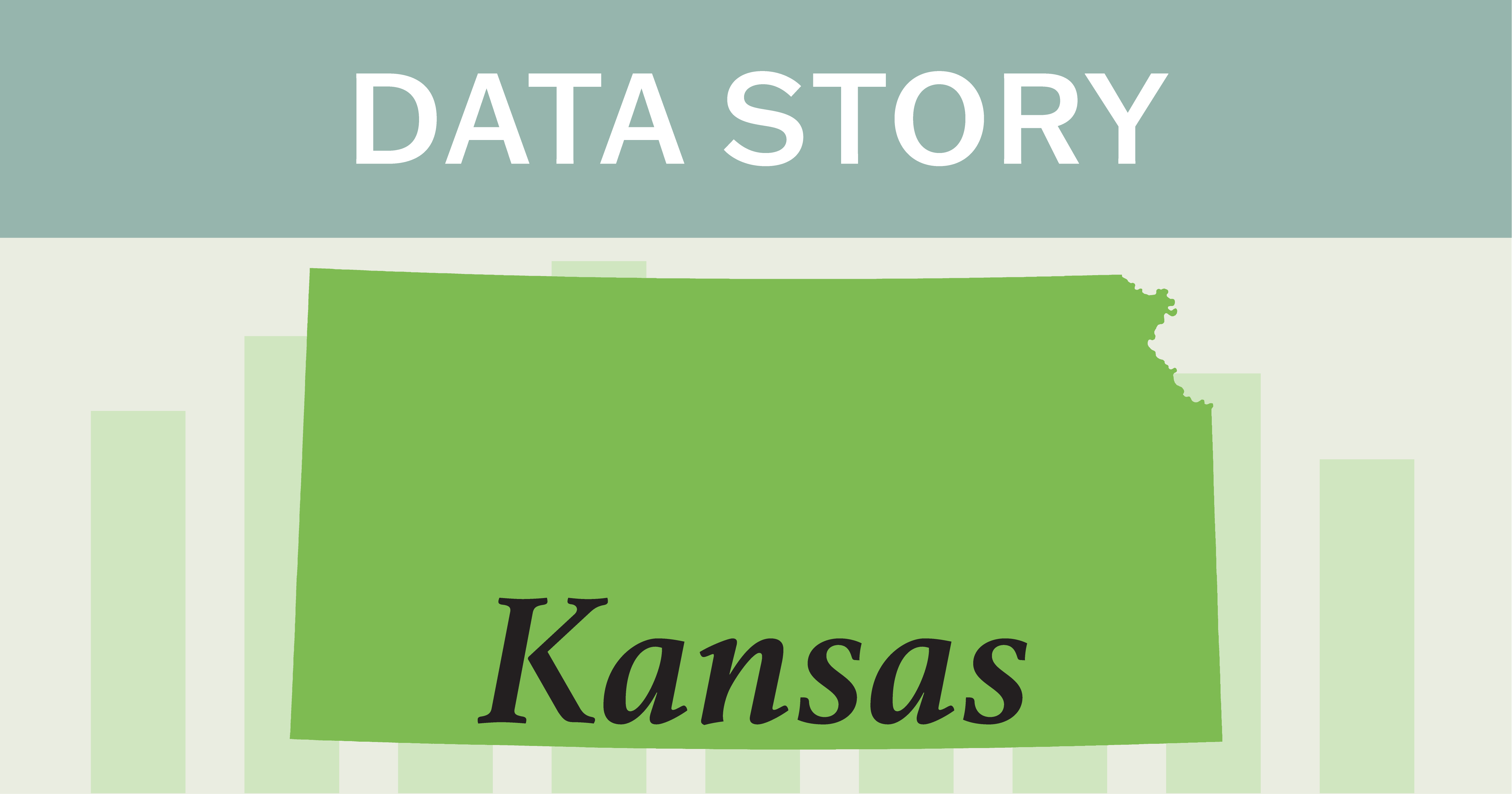 Outline of state of Kansas.