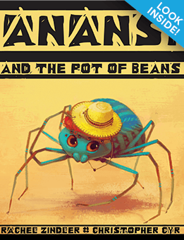 Anansi and the Pot of Beans_Look-Inside