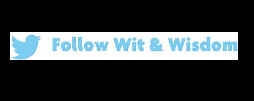 Follow @WitWisdomELA