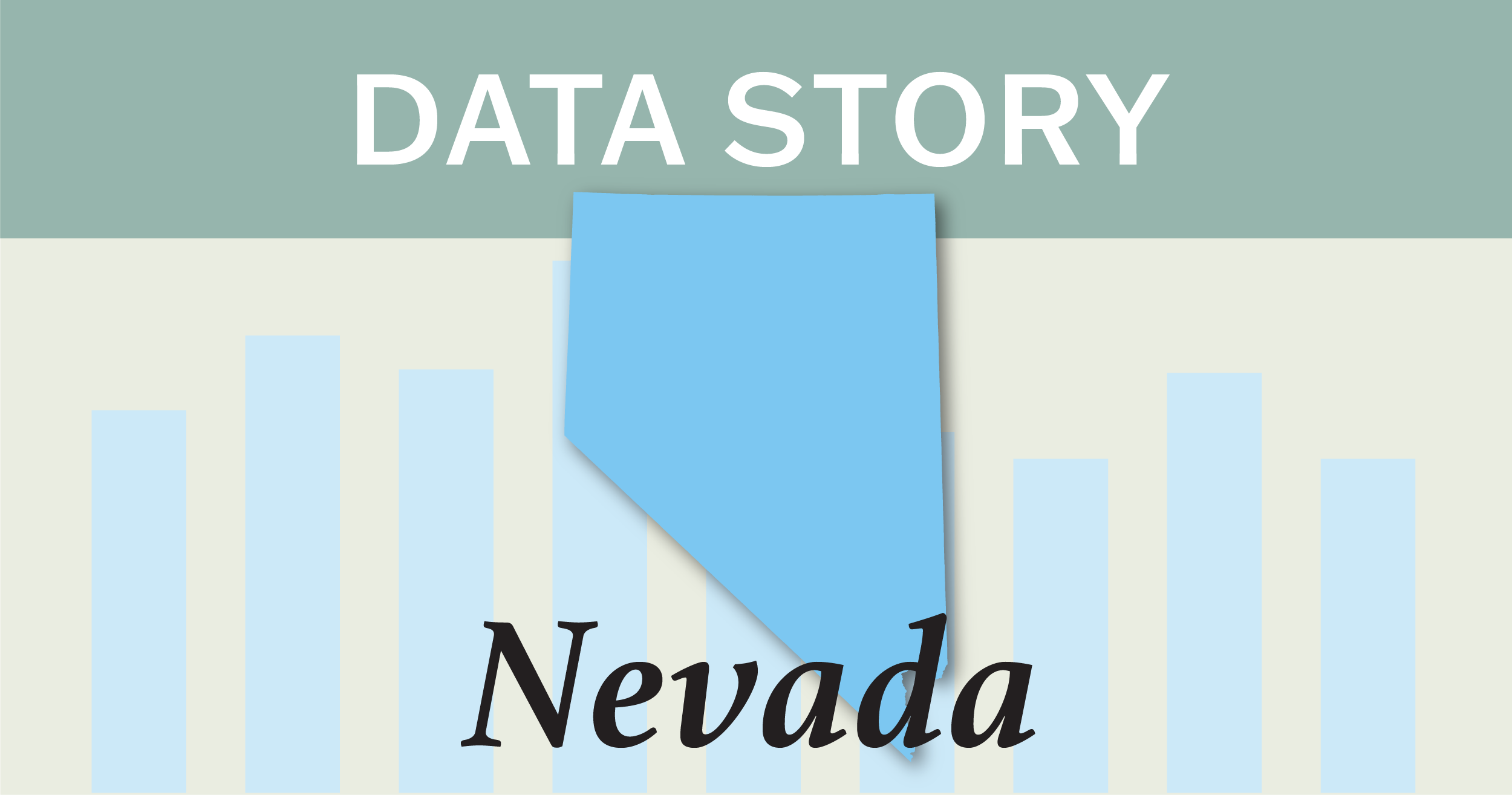 Outline of the state of Nevada.