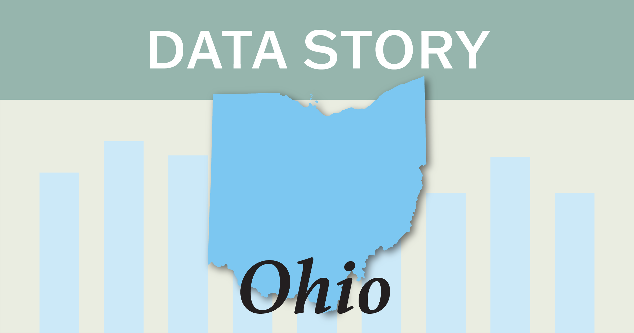 Image of the state of Ohio.