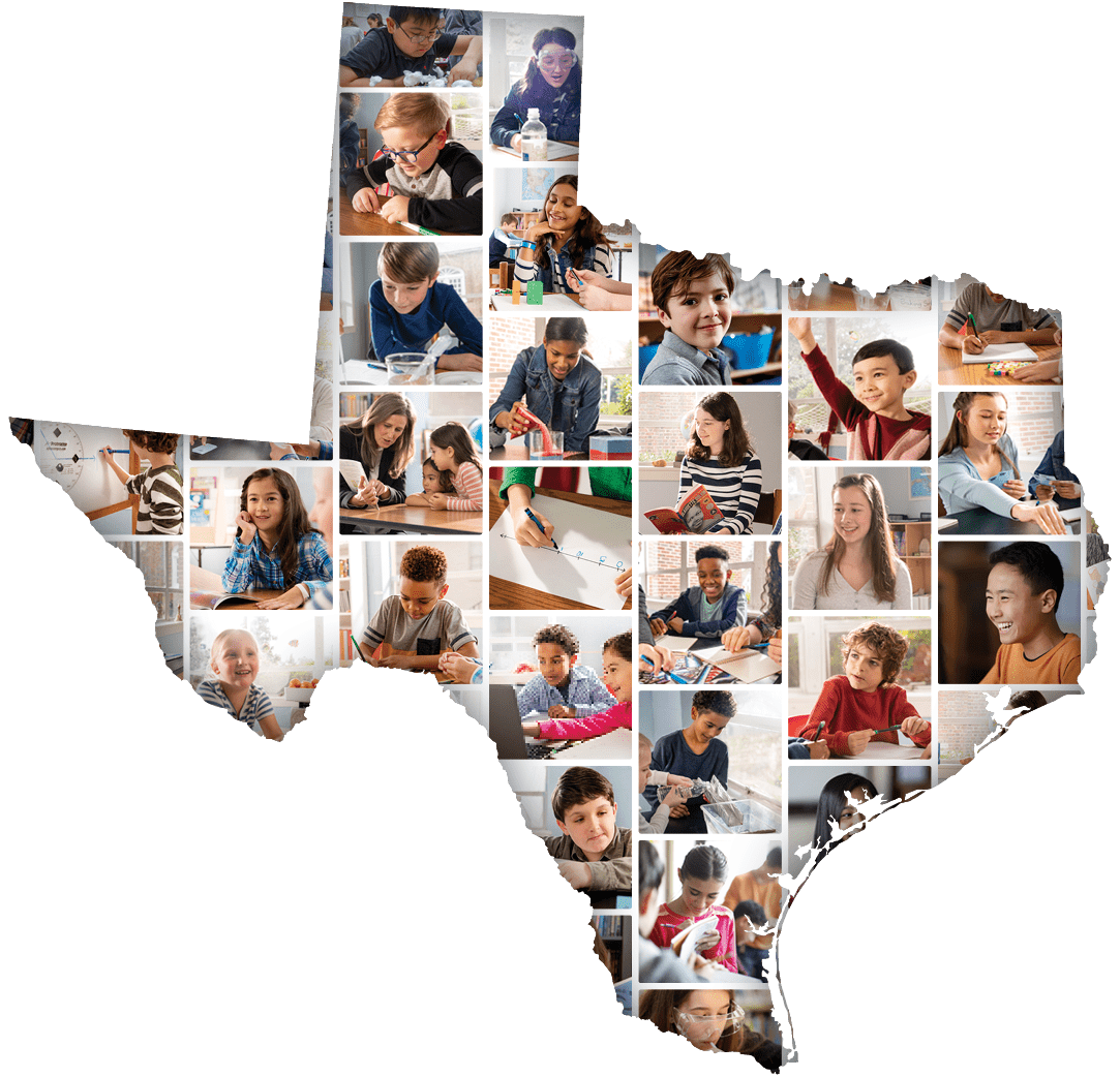 Texas - State Outline with Student Photo Grid_NEW